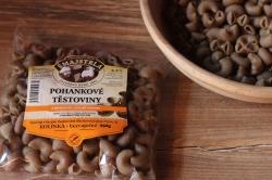 Pohankové těstoviny - kolínka 250g