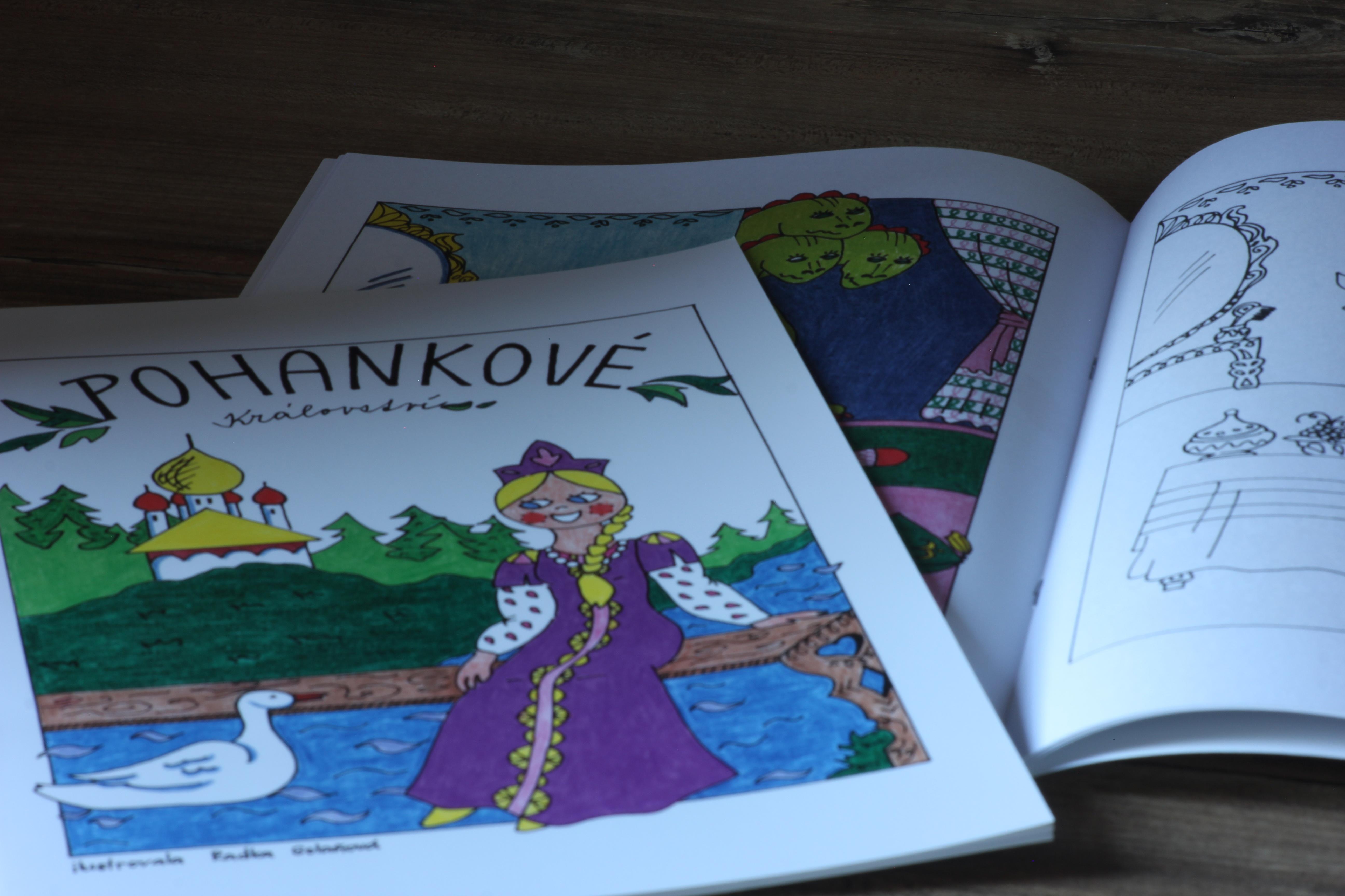 Ausmalbilderbuch: Buchweizen-Königreich